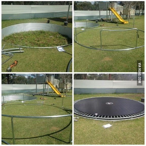 11 best images about trampolines on pinterest awesome things in ground trampoline and i love. Black Bedroom Furniture Sets. Home Design Ideas