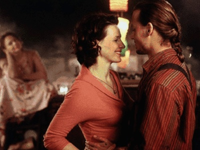 Chocolat ~ Best scene in the movie was the two of them dancing!