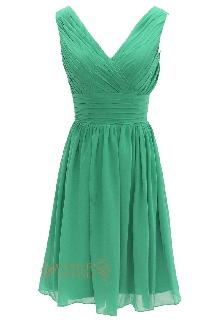 Best 25 forest green bridesmaid dresses ideas on for Short green wedding dresses