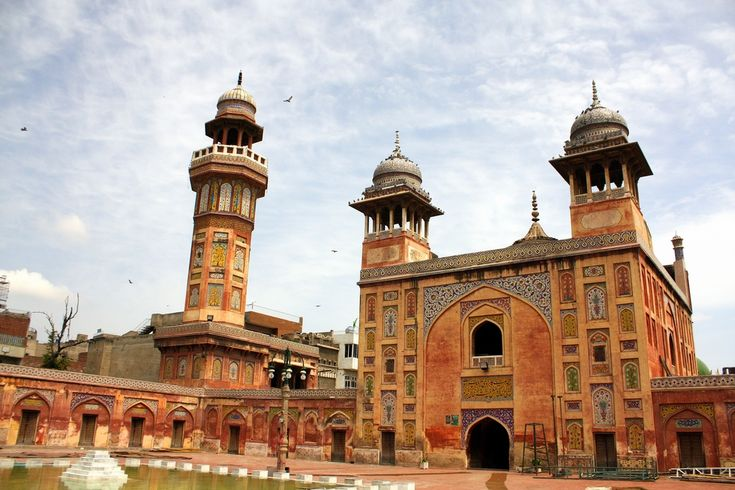 Beautiful Mosque in Lahore Pakistan Check out Mountain Laurel Handrails at http://awoodrailing.com