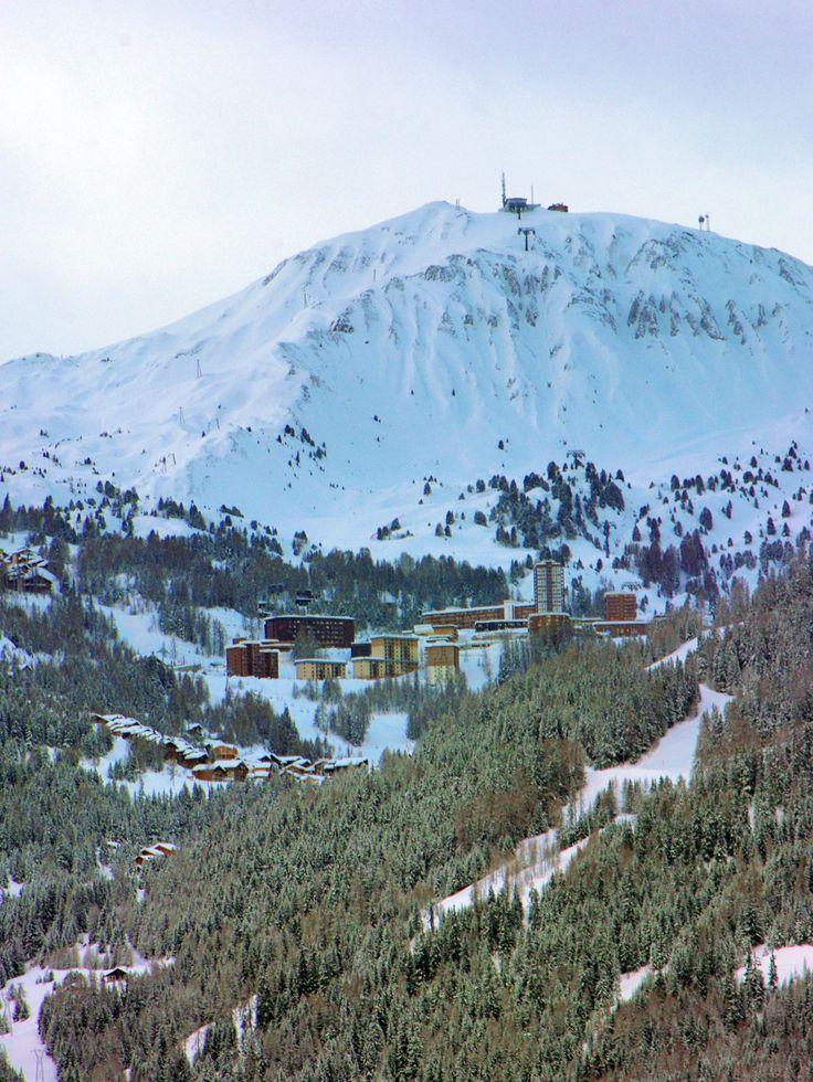 The ski-resort of La Plagne in the French Alps of Savoie. #LaPlagne #MaPlagne #Savoie #SavoieMontBlanc #Tarentaise #FrenchAlps #Alpes