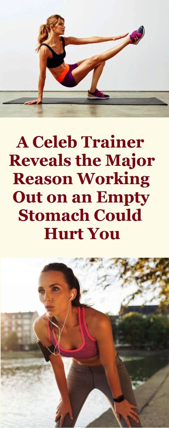 Exercising is great for your body, but it has to be done accordingly and should follow a certain pattern, if not so it can do more harm than good. For instance, how many of you eat before taking your intense cardio or HIIT? Most likely none of you and according to the well-known trainer Jason Wimberly this is a huge mistake.