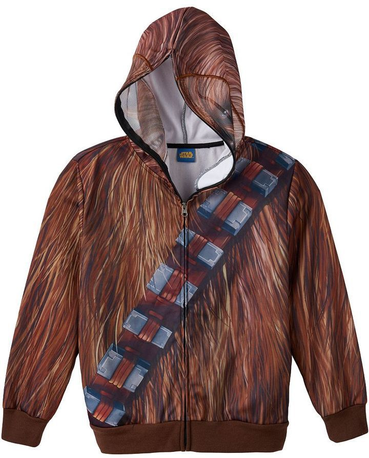 Best Sewing Patterns Images On Pinterest Star Wars Costumes - Hoodie will turn you into chewbacca from star wars