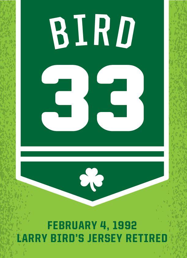 One for @Courtney Baker Celtics Larry retires