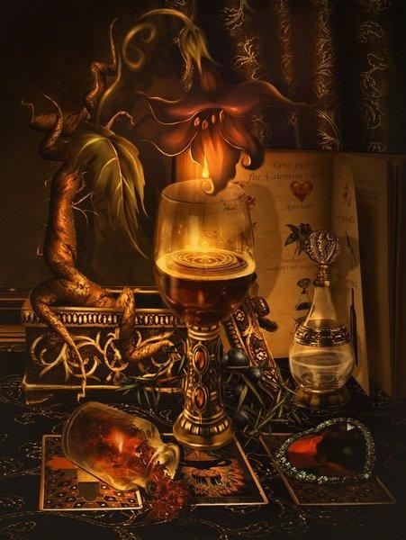 Dark Wizard Living Room Concept Art