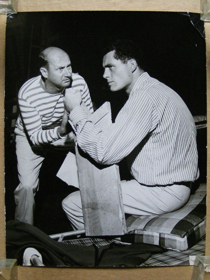 Robert Shaw and Donald Pleasence theatre photo by Sam Siegel 1961 The Caretaker in Entertainment Memorabilia, Theatre Memorabilia, Photographs | eBay