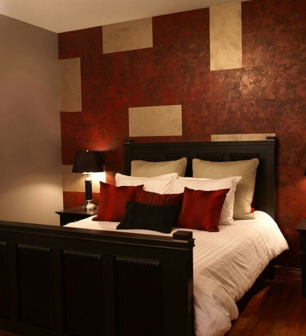 Red room homedecor pinterest red rooms room and for Master bedroom interior design red