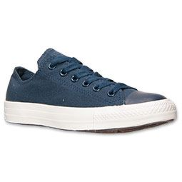 Navy on Navy  Converse Chuck Taylor Ox Casual Shoes | Finish Line |