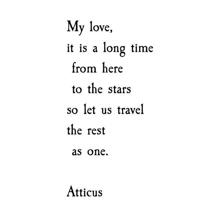 """7,075 Likes, 62 Comments - ATTICUS (@atticuspoetry) on Instagram: """"'Marriage Prayer' #atticuspoetry #atticus #poem #love #stars #findyourwild"""""""