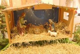 Resultado de imagen para como hacer casitas para nacimientos navideños