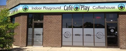 Cafe O' Play - Landing Page