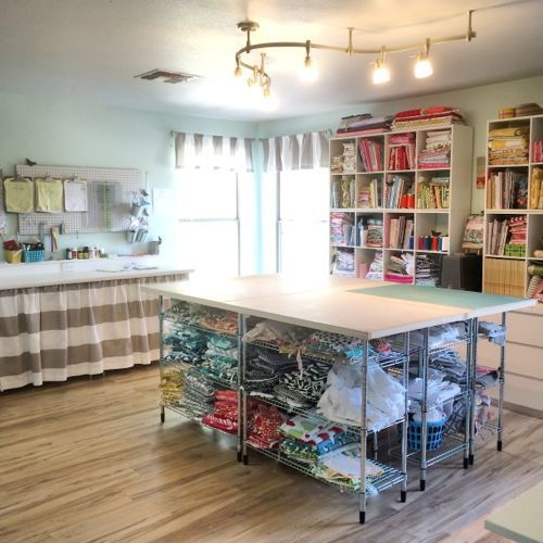 Build your own DIY cutting table for your sewing room | Stop staring and start sewing! | Bloglovin'