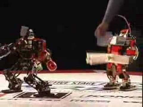 Japanese Fighting Robots!
