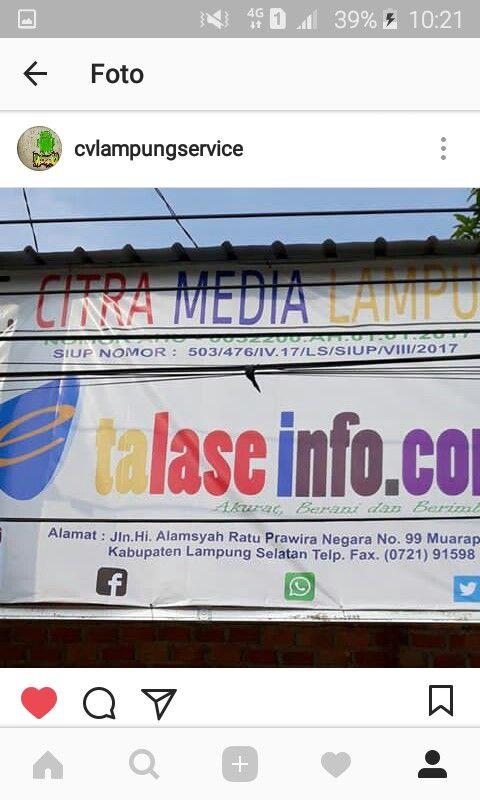 #jasapembuatanwebsite #BeritaLampung #Website #WebsiteBerita #jasawebsite #lampung #bandarlampung #lampungtimur #lampungbarat #lampungselatan #lampungutara #lampungtengah #metro #natar #PasarNatar  Hubungi 081366574266 #CvLampung #LampungService  #JasaWebsite #JasaAdministratorWeb #JasaMaintananceWeb #WebsitePerusahaan #WebsiteTokoOnline #WebsiteBerita #WebsiteIklanBaris #WebsiteLampung #WebsiteUKM #WebsitePersonal #KursusServiceHP #KursusTeknisiHP Hubungi : 081366574266