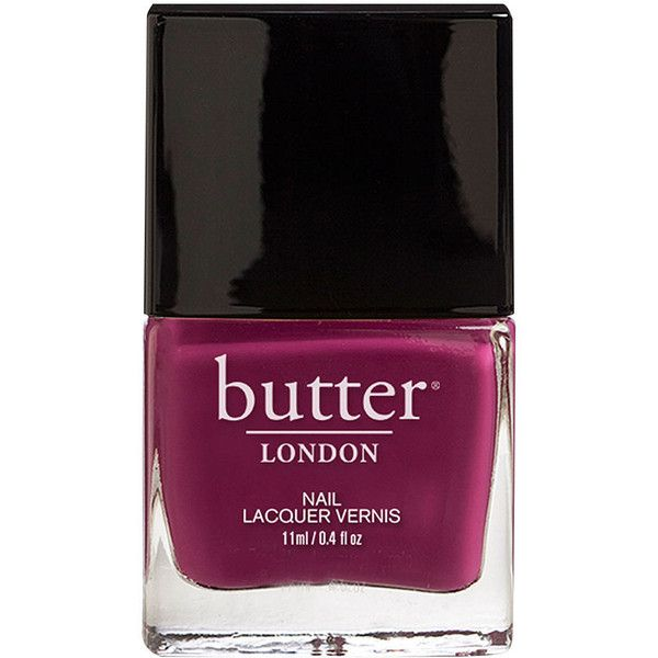butter LONDON Nail Lacquer, Queen Vic 0.4 oz (12 ml) ($15) ❤ liked on Polyvore featuring beauty products, nail care, nail polish, beauty, nails, fillers, butter london, butter london nail polish and butter london nail lacquer