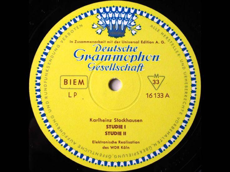 Karlheinz Stockhausen   Studie I / Studie II / Gesang Der Jünglinge