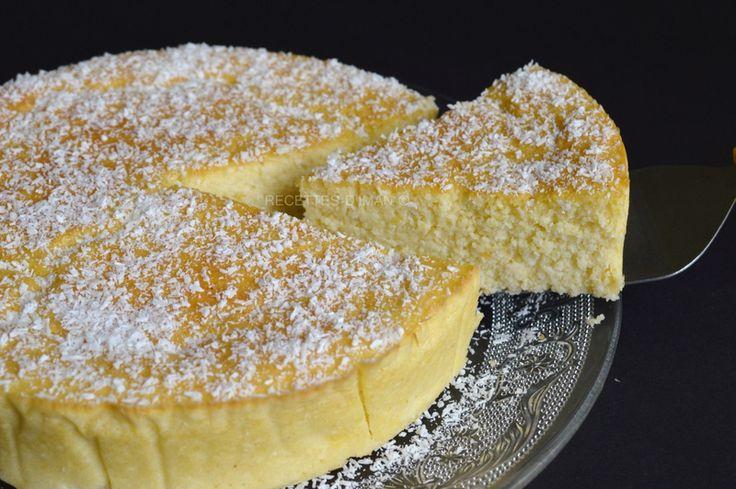 Gâteau léger semoule et coco : oh que je veux te goûter !