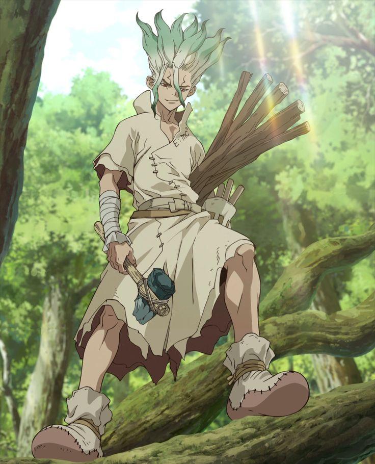 Senku Ishigami Dr. Stone Wiki Fandom Stone world