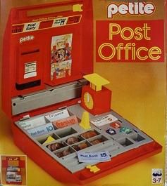 Nostalgia - 1980s petite post office. We also bought my Granny one of these when she retired after 53 years as a post mistress.
