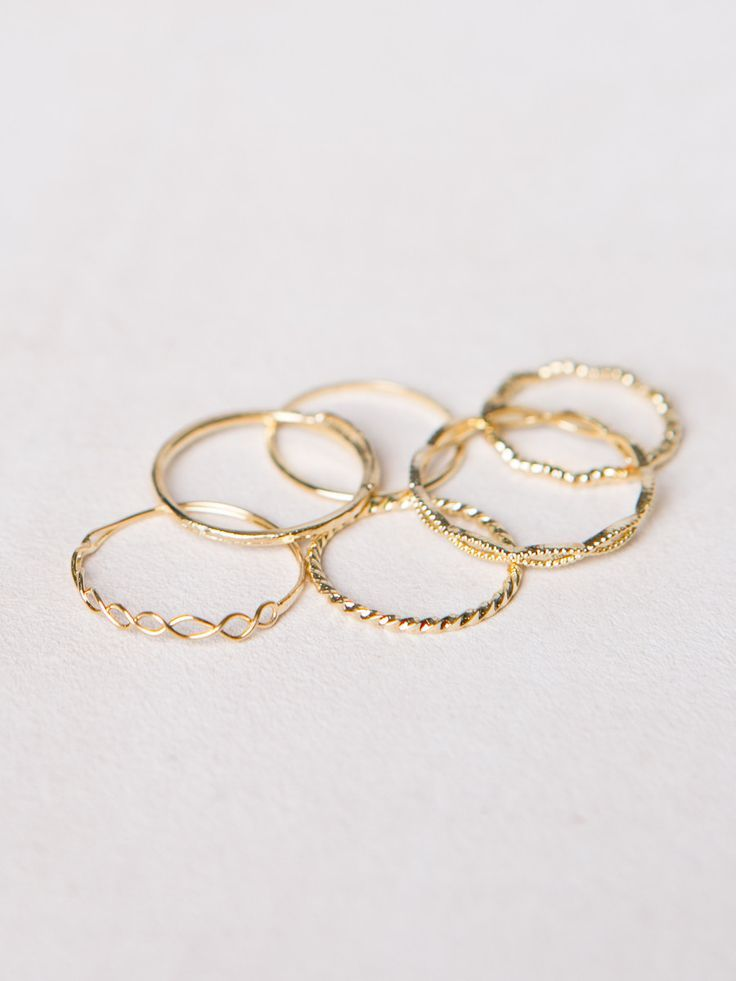 cool Assorted Dainty Rings Rings Check more at http://fashionye.top/pin/9677/