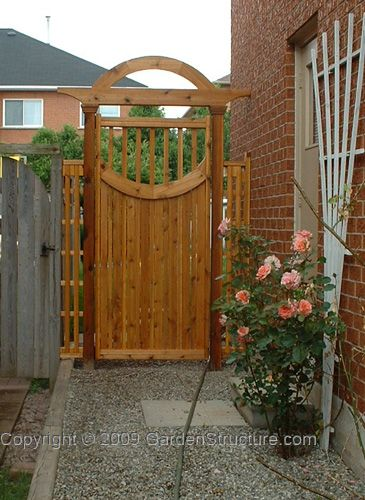32 best gates images on pinterest banister ideas decks for Garden gate designs wood
