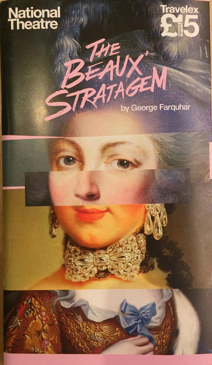 The Beaux Stratagem by George Farquhar, Olivier Theatre. With Geoffrey Streatfield, Samuel Barnett, Susannah Fielding and Pippa Bennett-Warner. Jun 2015.