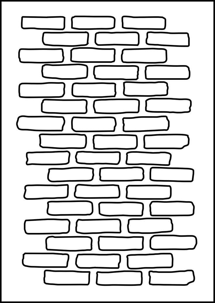 Bricks Stencil