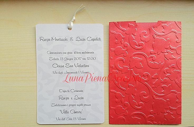 Partecipazione floreale, slide invitation. Personalizzabile   By LunaPienaCreazioni https://www.facebook.com/matrimoniobylunapienacreazioni/ http://lunapienacreazioni.blogspot.it/