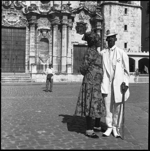 Havana Couple 2013 analogue photography silver print by DAniaFoto, $10.00