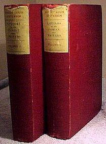 Robert Louis Stevenson - LETTERS TO HIS FAMILY Vol. 1&2