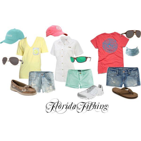 """""""Florida Fishing"""" Women's fishing outfits"""