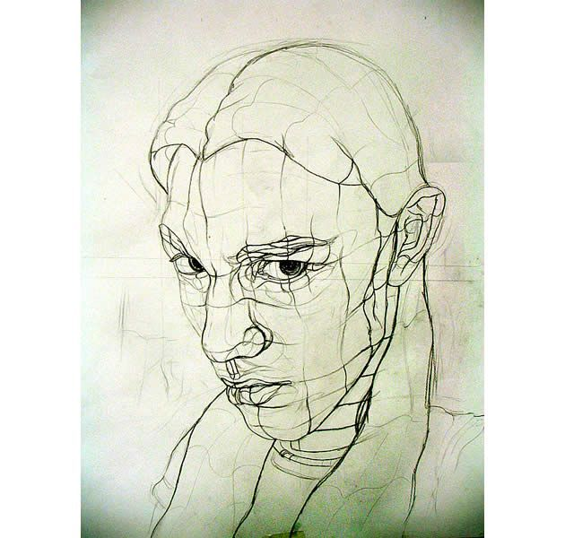 Contour Line Drawing Of A Person : Best contour drawing images on pinterest