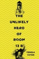 The Unlikely Hero of Room 13 B by Teresa Toten. Adam is 14 and falling hard for the new girl in his OCD support group, Robyn. He's intensely driven to save her, but how can he, when his own behaviors are so overwhelming? Adam's story of coping with his worsening rituals and trying to navigate normal teenage feelings will endear him to readers. Without being cliche, the author has created an engaging and absorbing novel. For fans of Eleanor & Park. #MCDL #Toten #NewTeenBooks