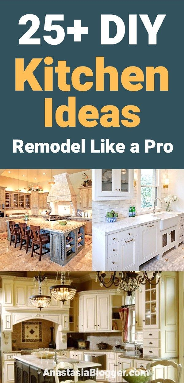 25 kitchen ideas on a budget diy remodeling food ideas rh in pinterest com