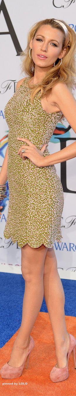 Blake Lively in Michael Kors  2014 CFDA Awards Red Carpet