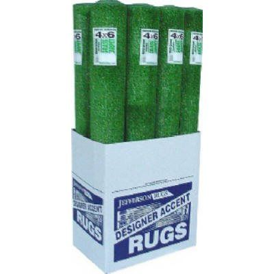 Area Rug, Outdoor, Heavyweight, Artificial Grass, 4 x 6-Ft.: Model# GRA46D | True Value...Since I can't find what we used to own this is good...looking at Lowe's as well