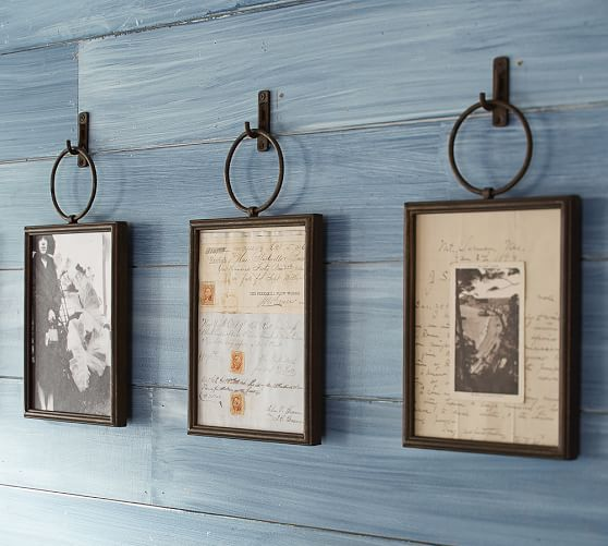 Pottery barn Weston frames.