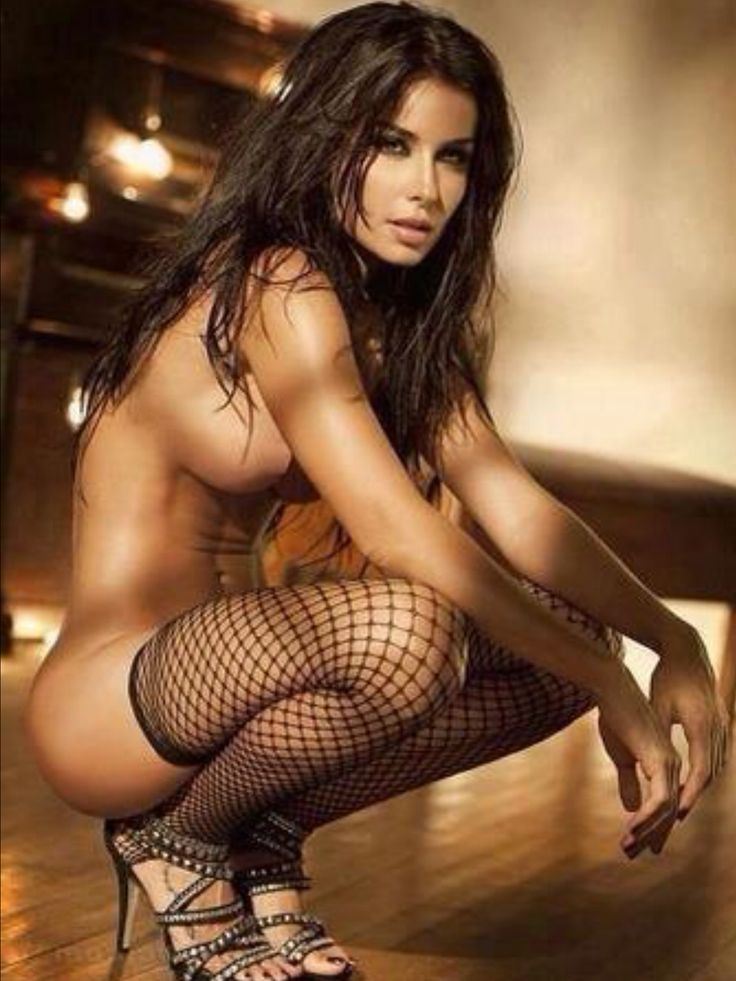 sexy fishnet girls nude