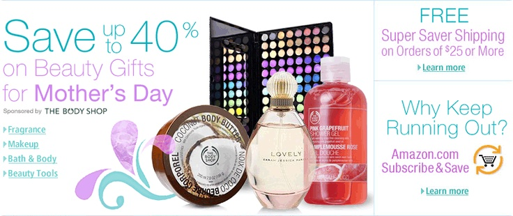 Products I Love / Beauty Gifts For Mother's Day -- Save up to 40% on Beauty Gifts for Mom