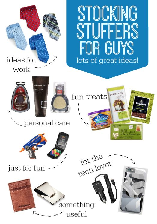 STOCKING STUFFERS FOR GUYS! Plenty of ideas for the man in your life - style, work, fun, tech, tasty treats, and more!