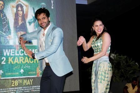 Photos – Music Launch of ' Welcome 2 Karachi ' with Jackky Bhagnani, Lauren Gottlieb