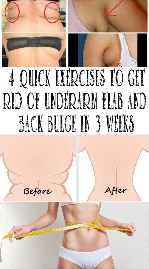 Fastest way to get rid of underarm flab