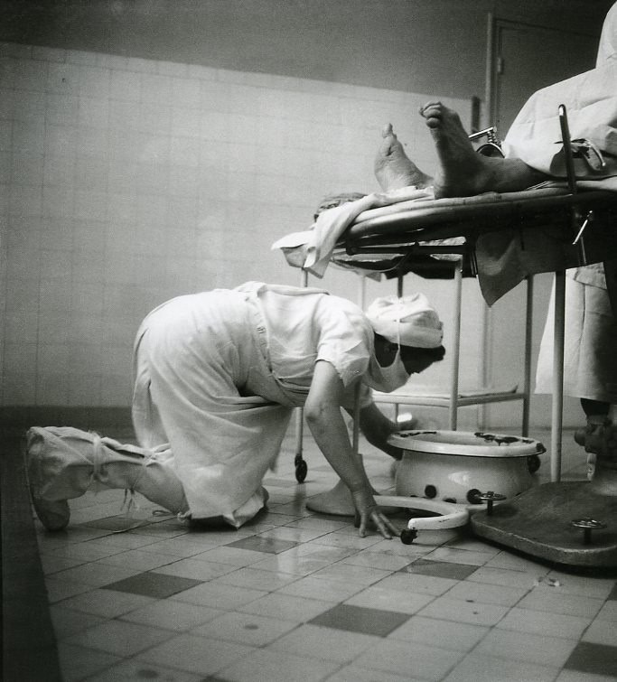 Willy Ronis - Hôpital Bichat Paris -1946.
