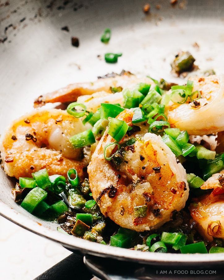 spicy salt and pepper shrimp