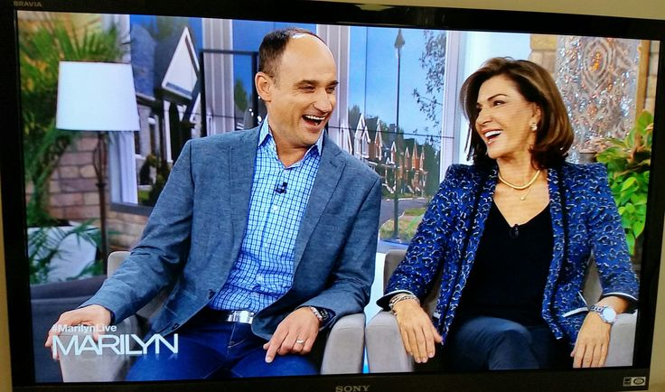 Having a laugh on The Marilyn Denis Show!
