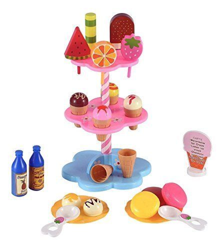 sweet treats ice cream desserts tower stand pretend play food toy rh pinterest com