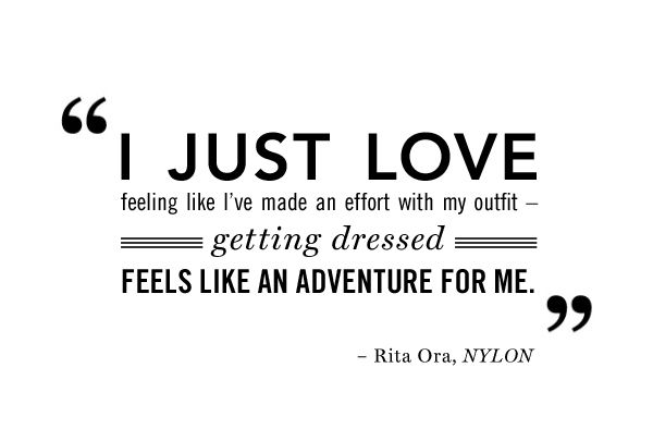 Rita Ora #Quote: Quotes 3, Rita Ora Quotes, Fashion Quotes, Ora Style
