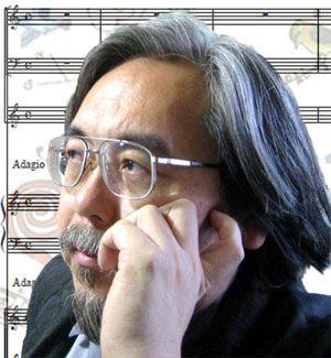 日本の作曲家。 どこまでも美しく鳥がさえずる幻想的な作風が特徴。美しい純音楽オーケストラをつくってくれたことに感謝。