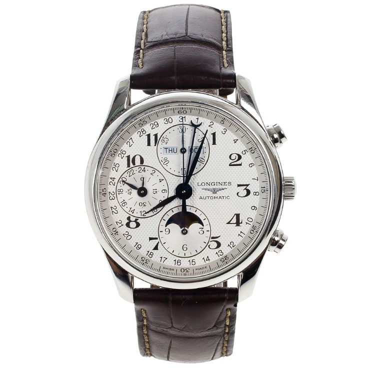 Longines Master Collection Moonphase Chronograph Mens Wristwatch 40 MM