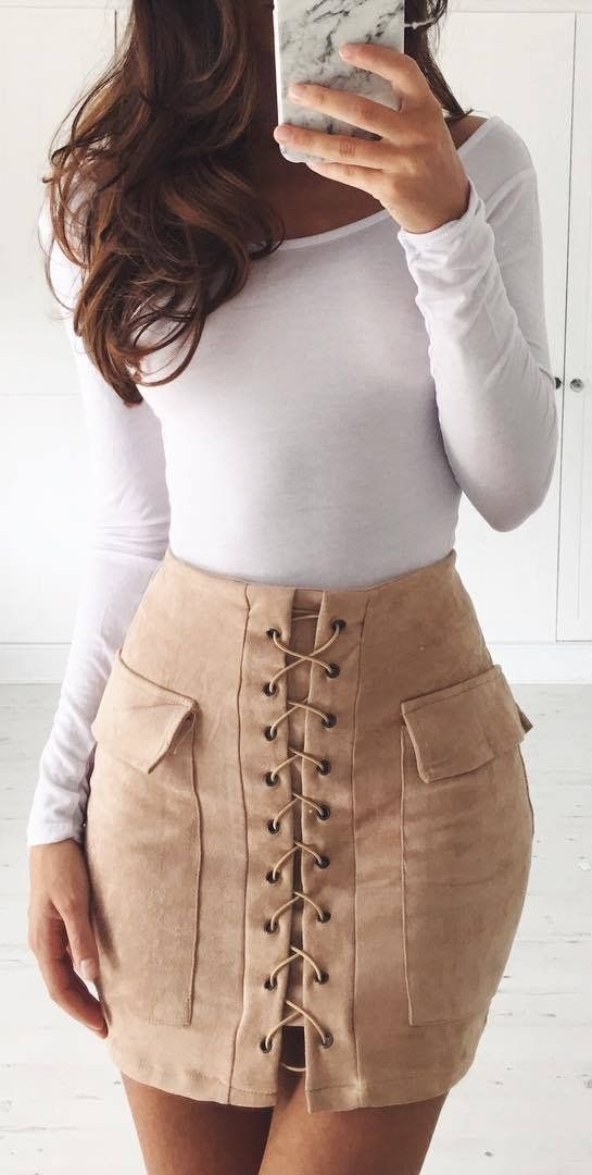 perfect outfit top + skirt